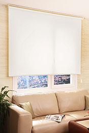 İkili Perde(Ön Beyaz Zincir Desenli Deluxe Dantella Serisi Stor Perde Arka Beyaz Basic Stor Perde)