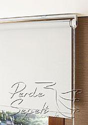 İkili Perde(Ön Kuşlar Design Stor Arka Kırık Beyaz Blackout Stor Perde) - 7