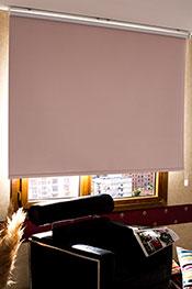 İkili Perde (Ön Beyaz Kelebek Desenli Deluxe Dantella -Arka Toz Pembe Linen Blackout)