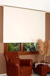 İkili Perde (Ön Beyaz Yaprak Desenli Dantella Serisi Stor Perde Arka Krem Neo Classic Stor Perde)
