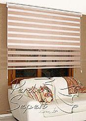 İkili Perde (Ön Pudra Bamboo Zebra Arka Beyaz Neo Classic Stor) - 4