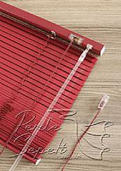 Kardinal Kırmızı Alüminyum Jaluzi 16mm Perde - 6