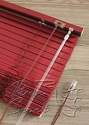 Kardinal Kırmızı Alüminyum Jaluzi 25mm Perde - 6