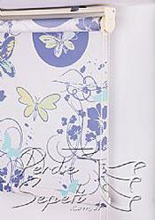 Kelebekler Baskılı Klasik Stor Perde - 5