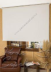 Kırık Beyaz Linen Serisi Stor Perde - 1