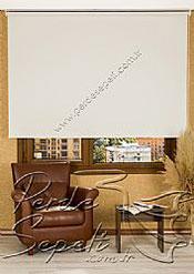 Kırık Beyaz Linen Serisi Stor Perde - 2