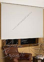 Kırık Beyaz Linen Serisi Stor Perde - 3