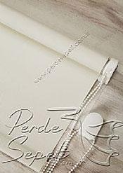 Kırık Beyaz Linen Serisi Stor Perde - 5