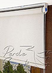 Kırık Beyaz Sedefli Linen Stor Perde - 4