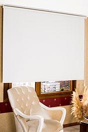 K�r�k Beyaz Simli Neo Classic Serisi Stor Perde
