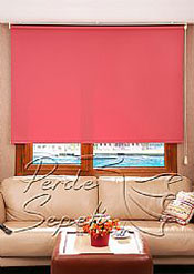 Kırmızı Neo  Classic Stor Perde - 2