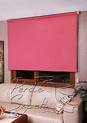 Kırmızı Neo  Classic Stor Perde - 3
