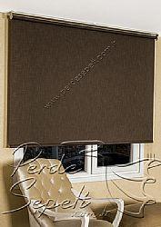 Koyu Kahverengi Şantuk Stor Perde - 3