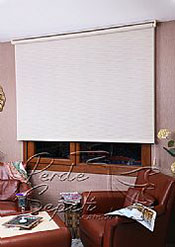 Krem Jacquard Screen Perde - 3