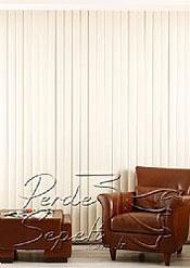 Krem Teksture Doku Bombeli Seri Dikey PVC Perde - 3