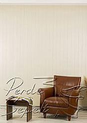 Krem Klasik Seri Dikey Pvc Perde - 3