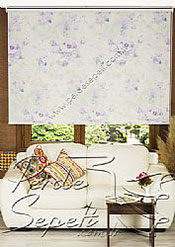 Lila Isabella Baskılı Klasik Stor Perde - 2
