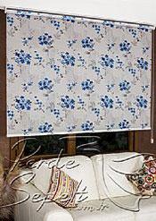 Mavi Frezya Design Tül Stor Perde - 3