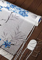 Mavi Frezya Design Tül Stor Perde - 5