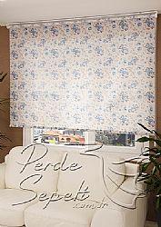 Mavi Gül  Design Stor Perde - 1
