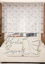 Mavi Gül  Design Stor Perde - 2