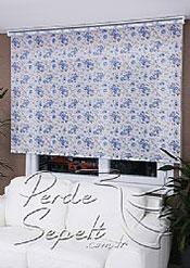 Mavi Gül  Design Stor Perde - 3