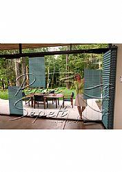 Cam Göbeği Klasik Seri 14mm Cam Balkon Plise Perde - 2