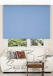 Mavi Linen Stor Perde - 2