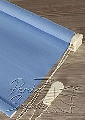 Mavi Linen Stor Perde - 5