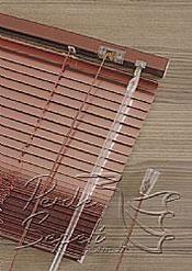 Metalik Kızıl Pembe Alüminyum Jaluzi 16mm Perde - 6