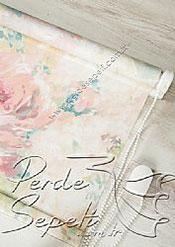 Pembe Isabella Baskılı Klasik Stor Perde - 5