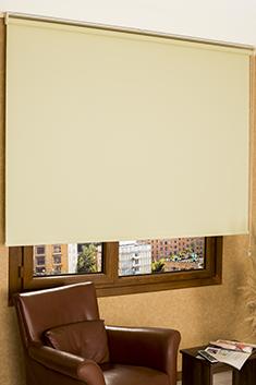 Promosyonel - 100x200 Açık Sarı Linen Serisi Stor Perde KOD:1667