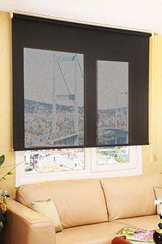 Promosyonel - 100x200 Siyah Screen Perde KOD:1674 -