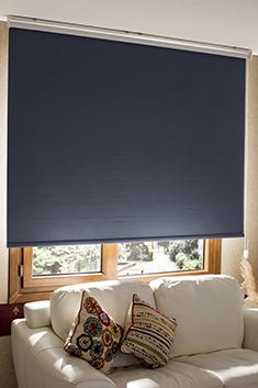 Promosyonel - 100x210 Mavi Linen Blackout Stor Perde KOD:709