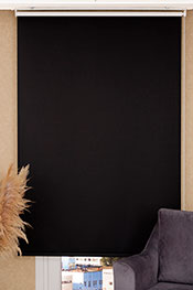 Promosyonel - 140x200 - Siyah Blackout Stor Perde