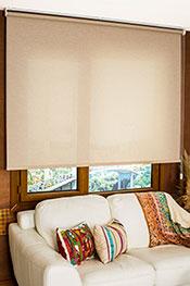 Promosyonel - 185 x 200 Koyu Kahverengi Kırçıllı Screen Stor Perde KOD:1545