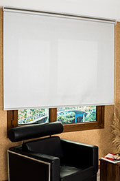 Promosyonel - 185 x 200 Metalik Gri Satine Serisi Screen Stor Perde KOD:1640