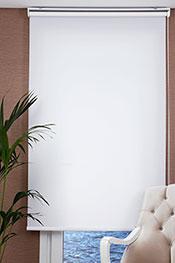 Promosyonel - 80 x 200 Beyaz Basic Stor Perde KOD:365
