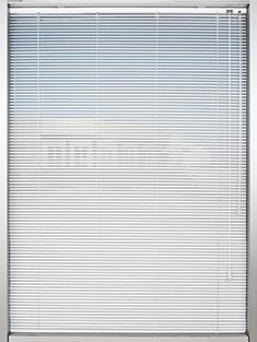 Promosyonel - 100x137 Kırık Beyaz Alüminyum Jaluzi 16mm Perde KOD:1697