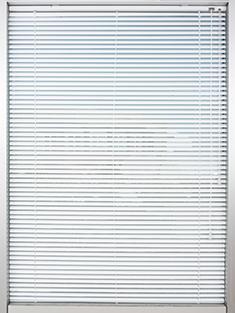 Promosyonel - 100x137 Kırık Beyaz Alüminyum Jaluzi 25mm Perde KOD:1698