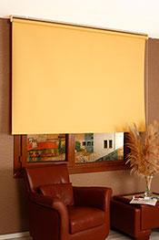 Promosyonel - 120 x 200 Sarı Linen Stor Perde KOD:683