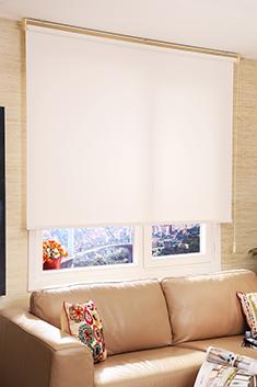 Promosyonel - 120x200 Beyaz Neo Classic Stor Perde KOD:133