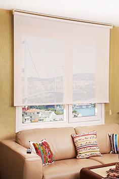 Promosyonel - 173x260 Beyaz Screen Perde KOD:848