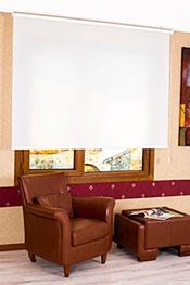 Promosyonel - 173x93 Beyaz Transparan Güneşlik Stor Perde KOD:564