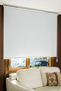 Promosyonel - 185x200 Beyaz Basic Blackout Serisi Stor Perde KOD:150