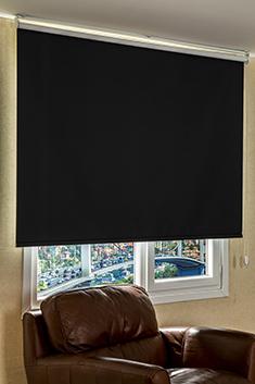 Promosyonel - 185x200 Siyah Basic Blackout Serisi Stor Perde KOD:157