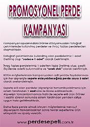Promosyonel - 60 x 200 Leylak Neo Classic Stor Perde KOD:630 - 1