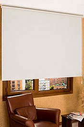 Promosyonel - 74 x 200 Kırık Beyaz Linen Serisi Stor Perde KOD:1054