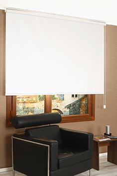 Promosyonel - 77x200 Kırık Beyaz Sedefli Shiny Blackout Stor Perde KOD:854
