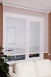 Promosyonel - 80 x 200 Beyaz Parlak Estela Stor Perde KOD:651